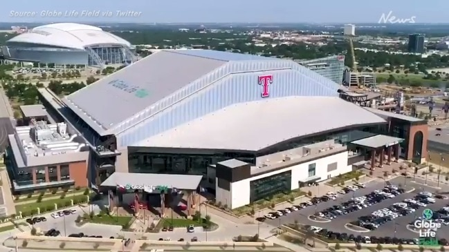 The new home of the Texas Rangers