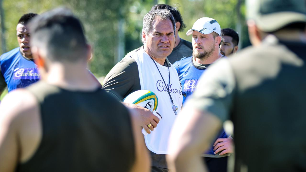 Wallabies coach Dave Rennie is excited about taking on the All Blacks. Picture: Andrew Phan/Wallabies Media