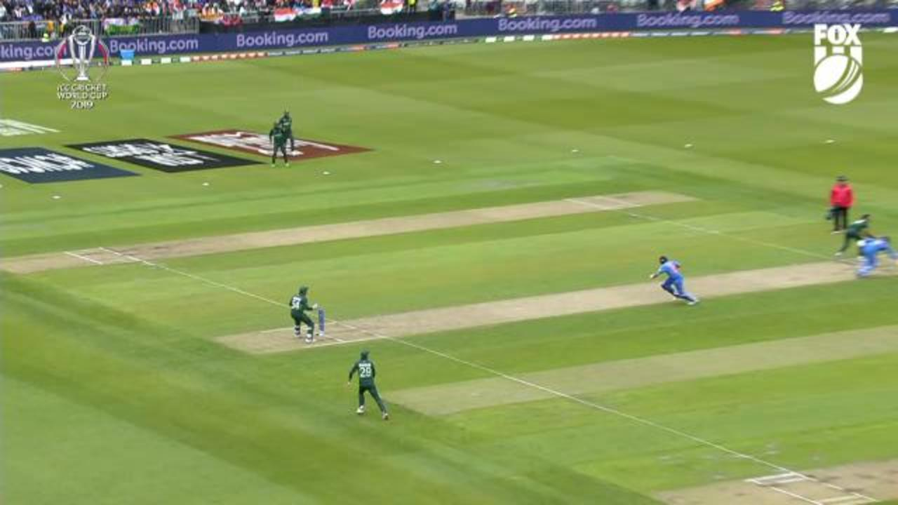 Shambolic fielding saves Sharma