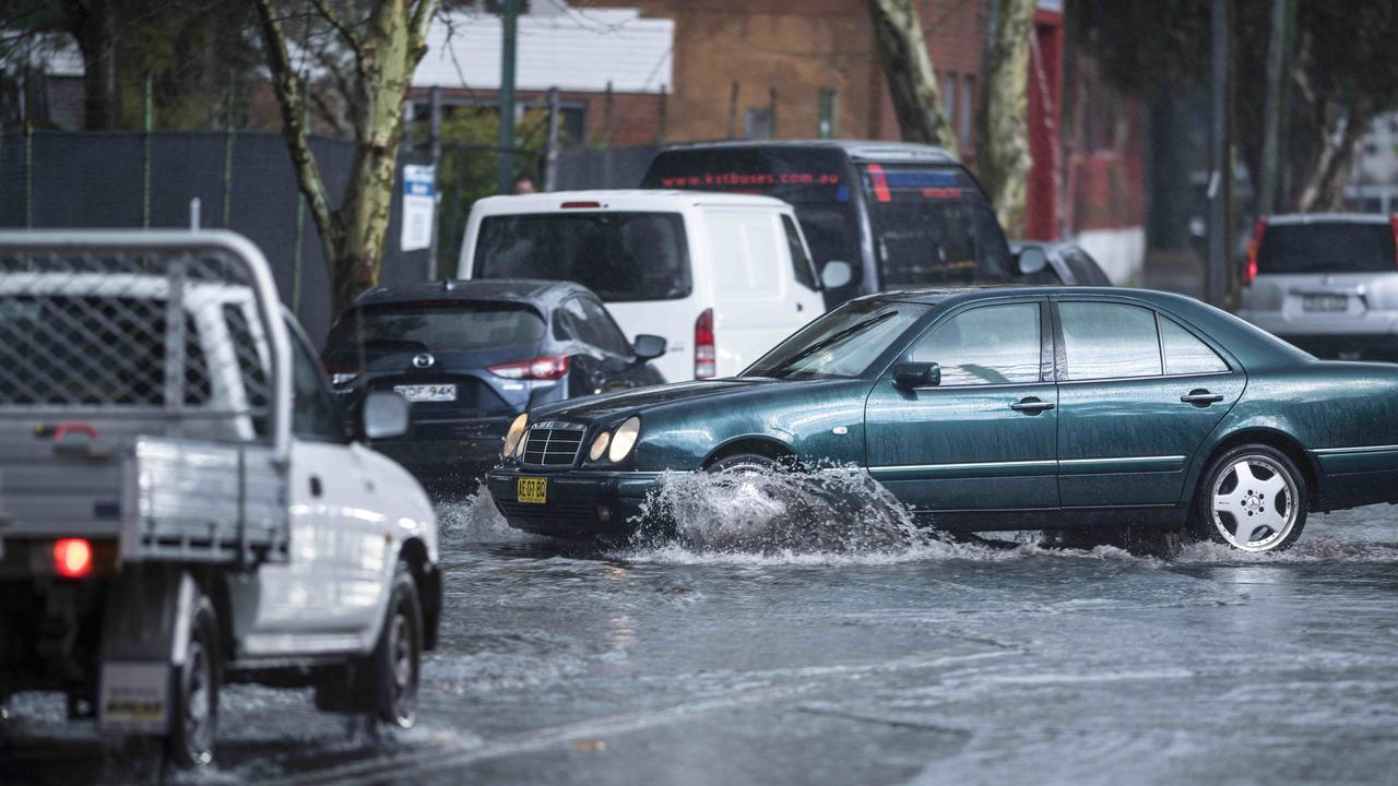 Sydney motorists hadn't encountered such conditions for months. Picture: Darren Leigh Roberts