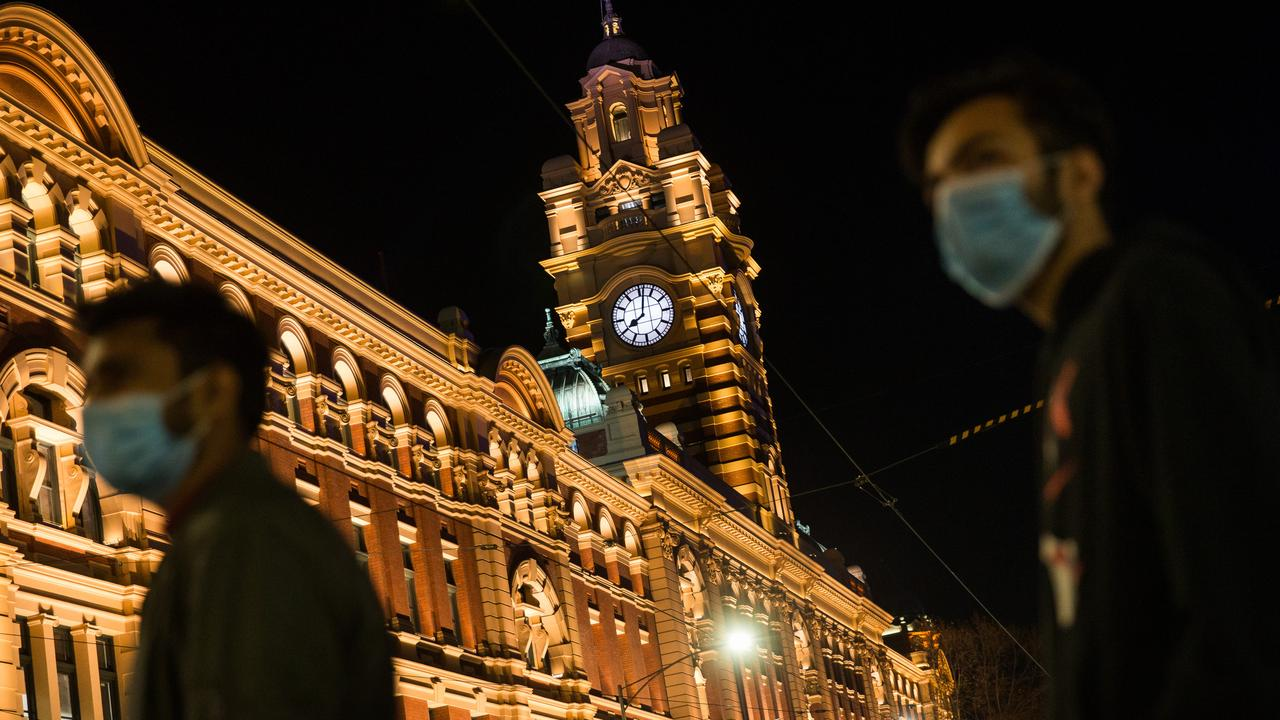 Melbourne spent its first night in curfew last night.