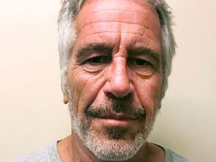 Jeffrey Epstein died by apparent suicide. Image: New York State Sex Offender Registry via AP, File.