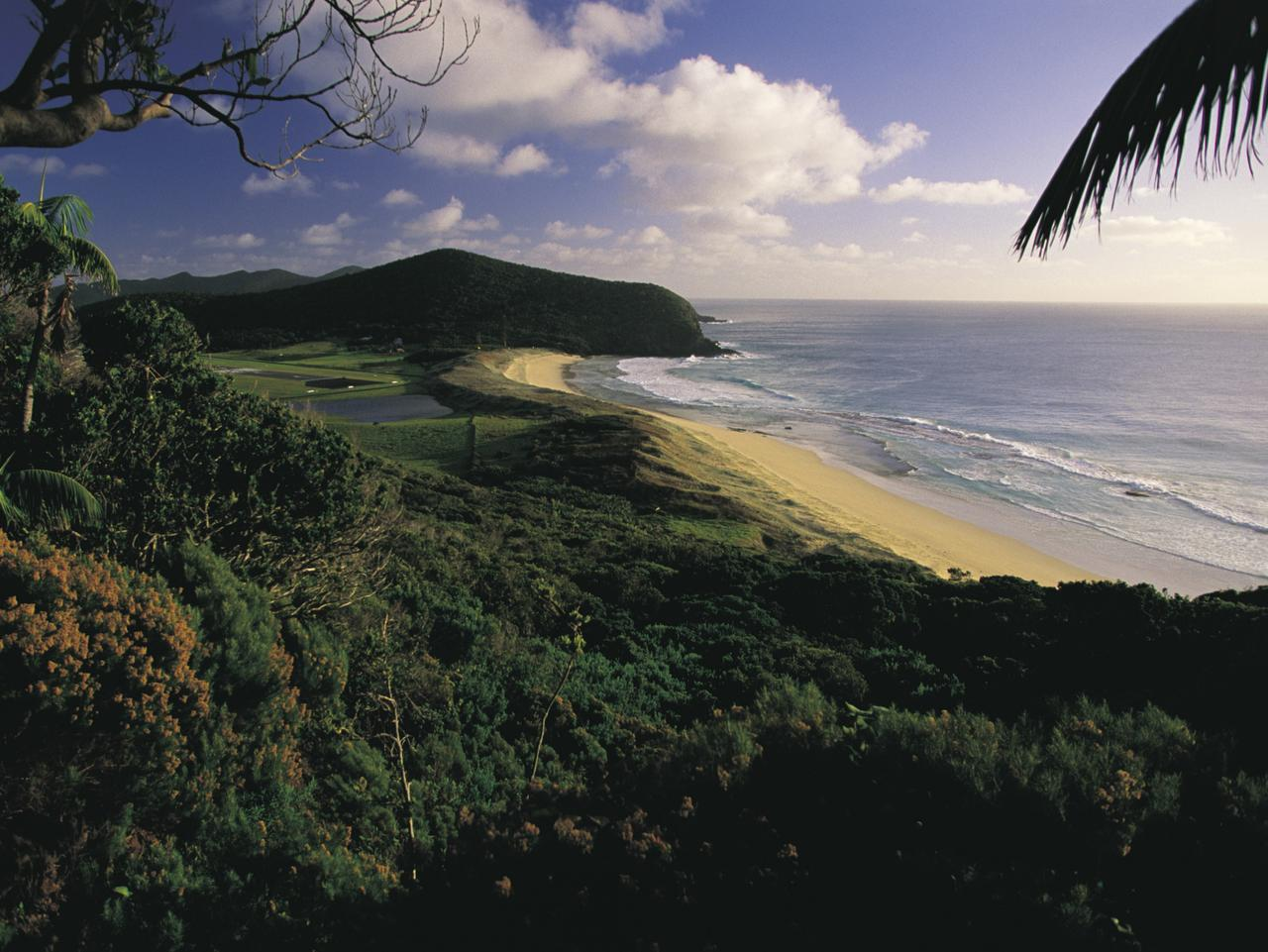 ESCAPE: NSW BEACHES, LOUISE SOUTHERDEN,  Blinky Beach, Lord Howe Island. Picture: Don Fuchs; Destination NSW