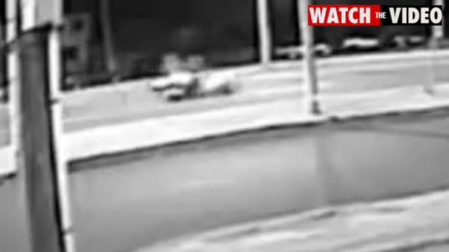 CCTV footage moments before fatal motorcycle crash