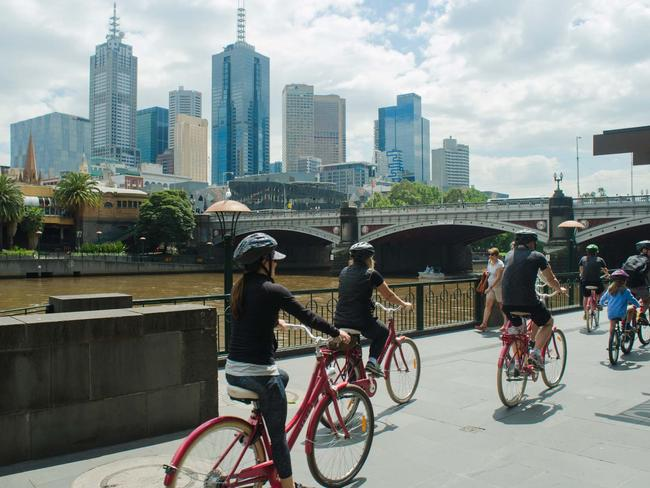 2. THE BEST OF MELBOURNE BIKE TOUR – MELBOURNE, VICTORIA Melbourne is one of Australia's most bike-friendly cities, with more than 135km of on- and off-road bike trails. On this sightseeing cycling tour, take the scenic route around the city's atmospheric neighbourhoods, through its beautiful parks and waterfront districts, and along the meandering Yarra River – with plenty of photo opportunities and an optional lunch stop along the way.