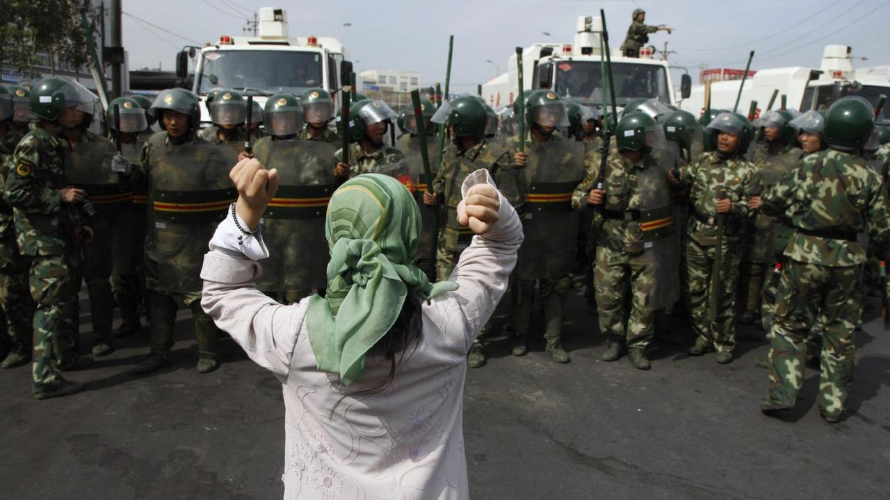 Muslims in Xinjiang can face detainment at any moment.