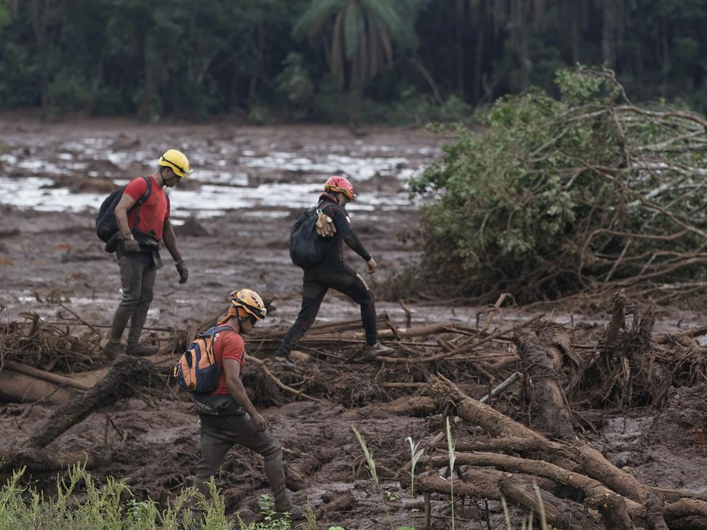 The ruptured dam had been in the process of being decommissioned, and Vale said it had recently passed structural safety tests. Picture: AP/Leo Correa