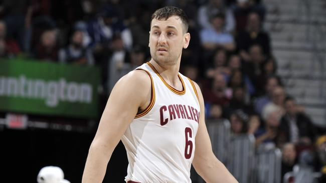 Andrew Bogut had a brief appearance with the Cleveland Cavaliers last season.