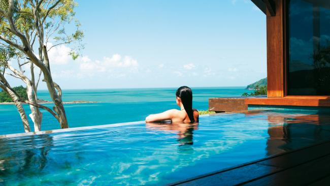 If you're here to celebrate, book a spot at qualia - an ultra luxurious resort on Hamilton Island. It's as gorgeous as you'd expect - Escape's review on it is here.Picture: Supplied