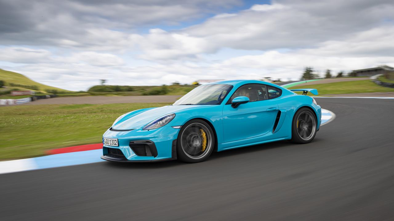 The GT4 has close links to Porsche's race weaponry.