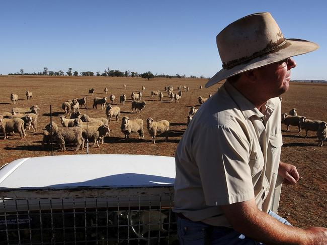 Australian droughts are predicted to increase and last longer. Picture: Lisa Maree Williams