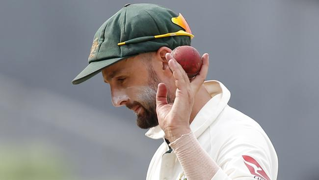 Spinner Nathan Lyon took six wickets to give Australia hope.