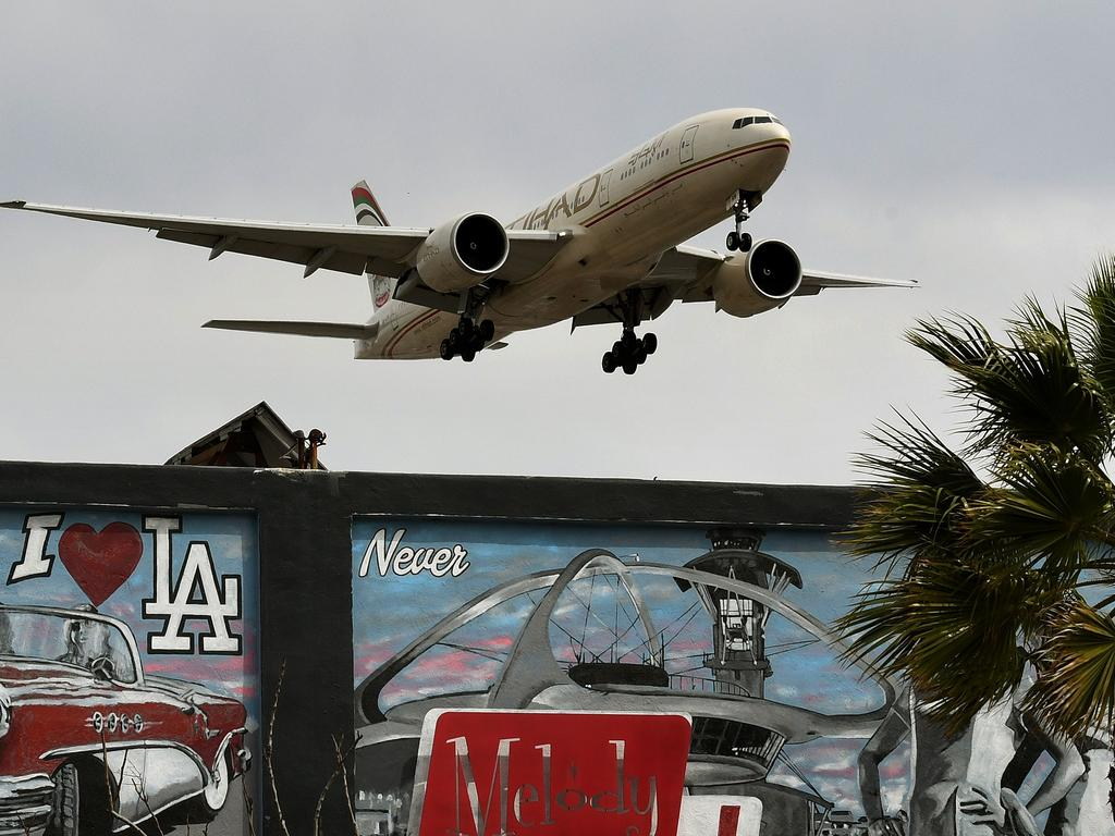 Etihad announced it will be launching flights between London and parts of Australia from this week. Picture: Mark Ralsto/AFP