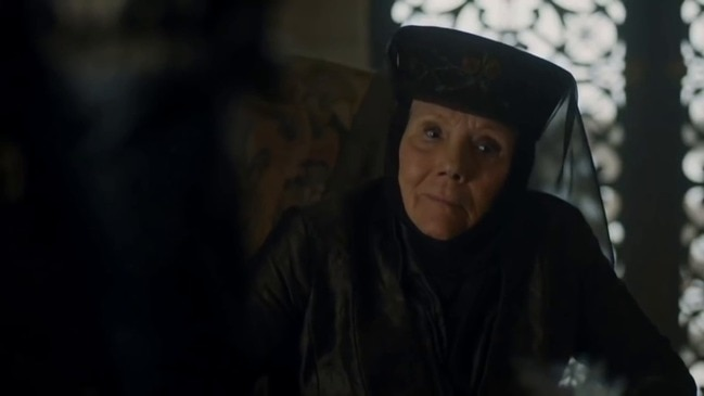 Game of Thrones: Diana Rigg as Olenna Tyrell the Queen of Thorns