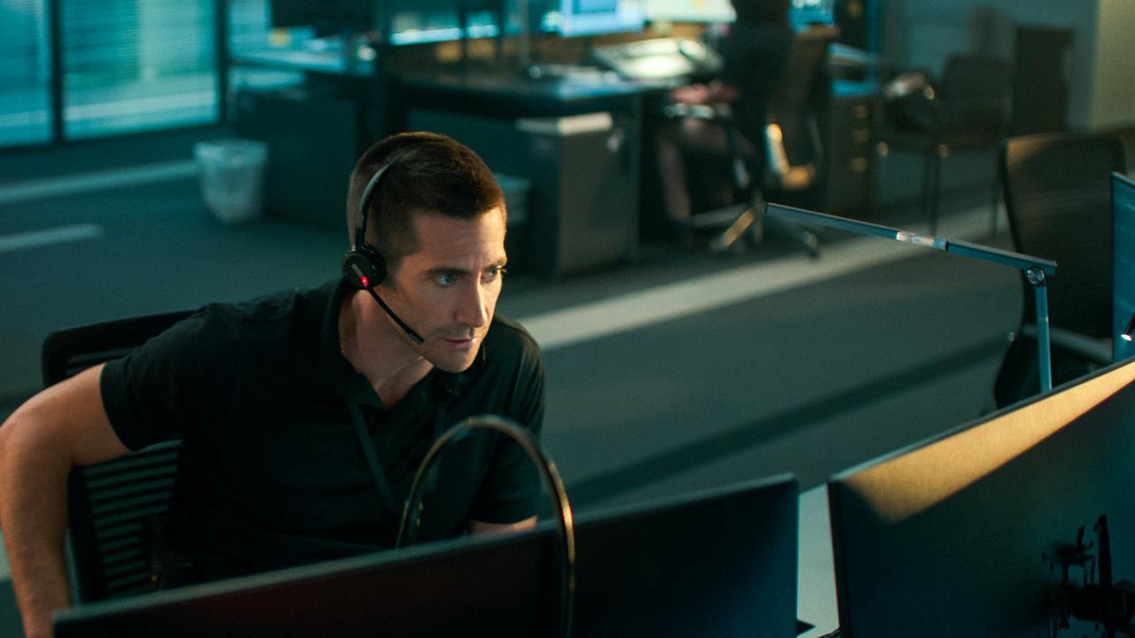 Jake Gyllenhaal has no where to hide. Picture: Glen Wilson/Netflix