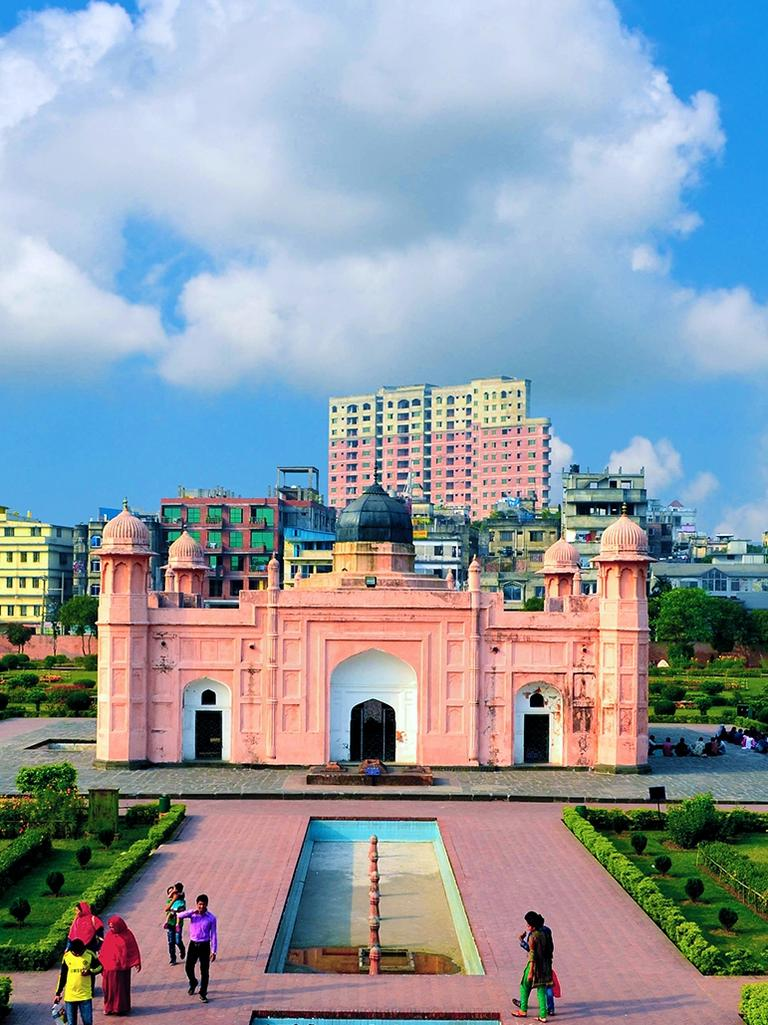 Lalbagh Fort in Dhaka, Bangladesh, as it is now. Picture: Supplied