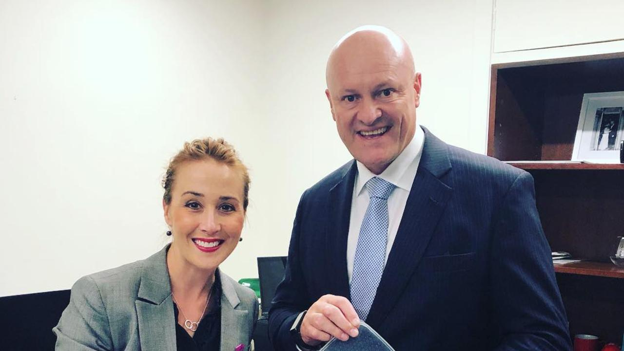 Opposition Education spokesperson David Hodgett (right) has outlined a plan to for Melbourne students to return to face-to-face learning.