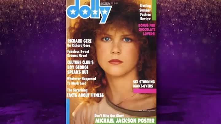 Nicole Kidman's early modelling photos