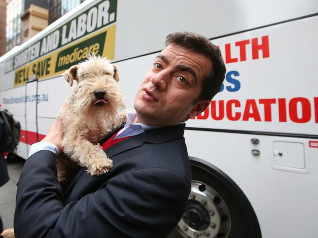 Sam Dastyari has quashed any rumours of a challenge to Bill Shorten. Picture: Kym Smith