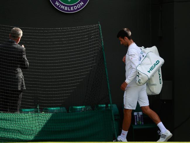 Novak Djokovic simply had no answer to Sam Querrey