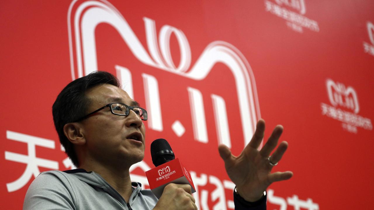 Alibaba Group executive vice chairman Joe Tsai. Picture: Ng Han Guan/AP