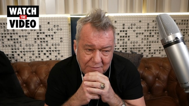 Why Jimmy Barnes stopped joking