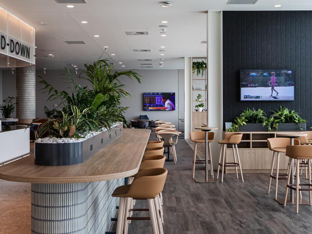 New Virgin Australia Lounge at Adelaide Airport. Picture: Virgin Australia
