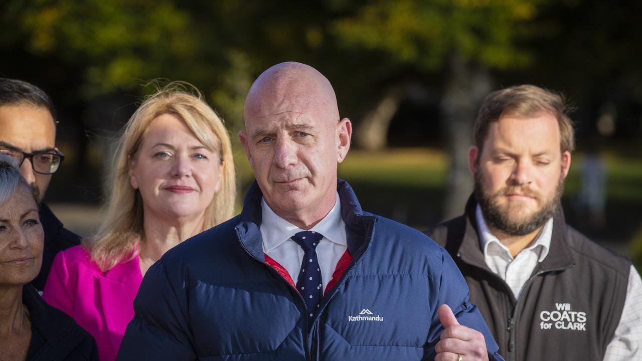 Premier of Tasmania Peter Gutwein. Picture: NCA NewsWire/Richard Jupe.