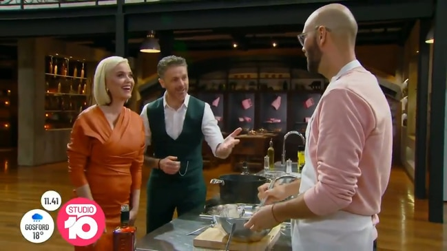 """An absolute nightmare"": Masterchef judge on trying to control Katy Perry (Studio 10)"