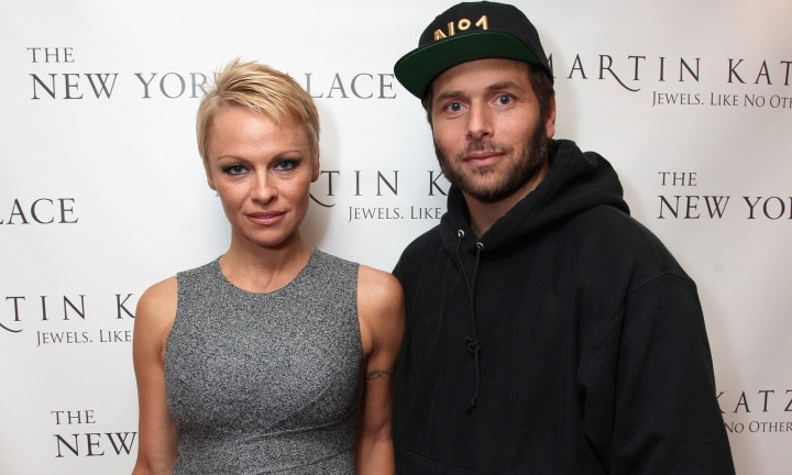 <b>Pamela Anderson and Rick Salomon </b> Marriage length: 60 days <p> Pamela and Rick have sex tapes in common, you may remember Rick as being the co-star in Paris Hilton's famous tape. The pair were married for two months before divorcing citing irreconcilable differences.