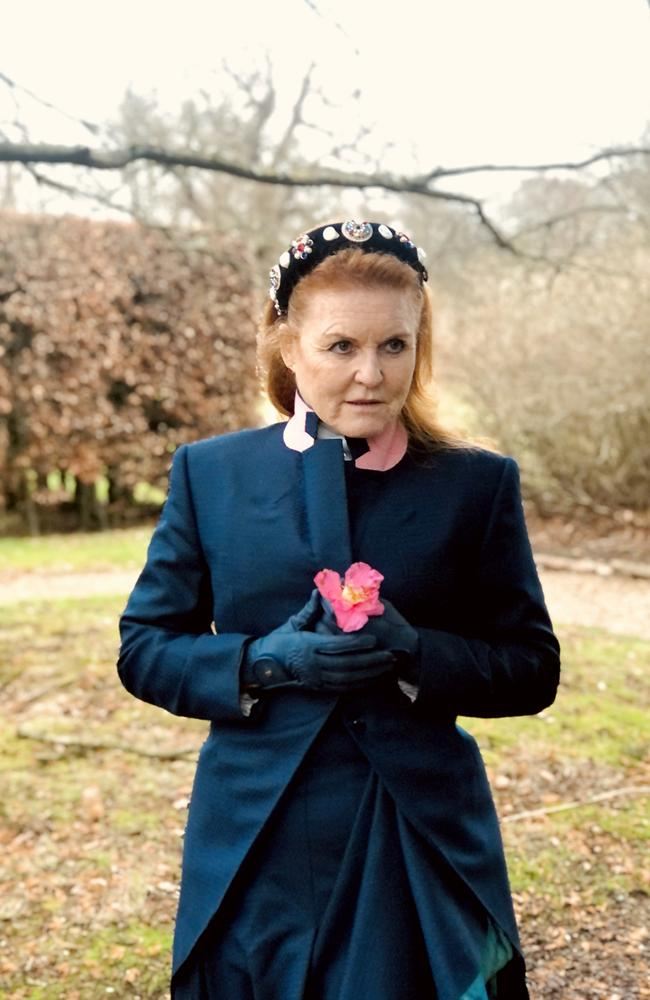 No going back … Sarah Ferguson, who has already written nonfiction and kids' books, is now a Mills & Boon novelist.