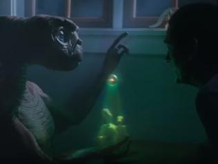 E.T. and Elliot reunite. Image: Xfinity