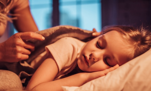 kid sleeping The bedwetting specialist with an 18 month waiting list