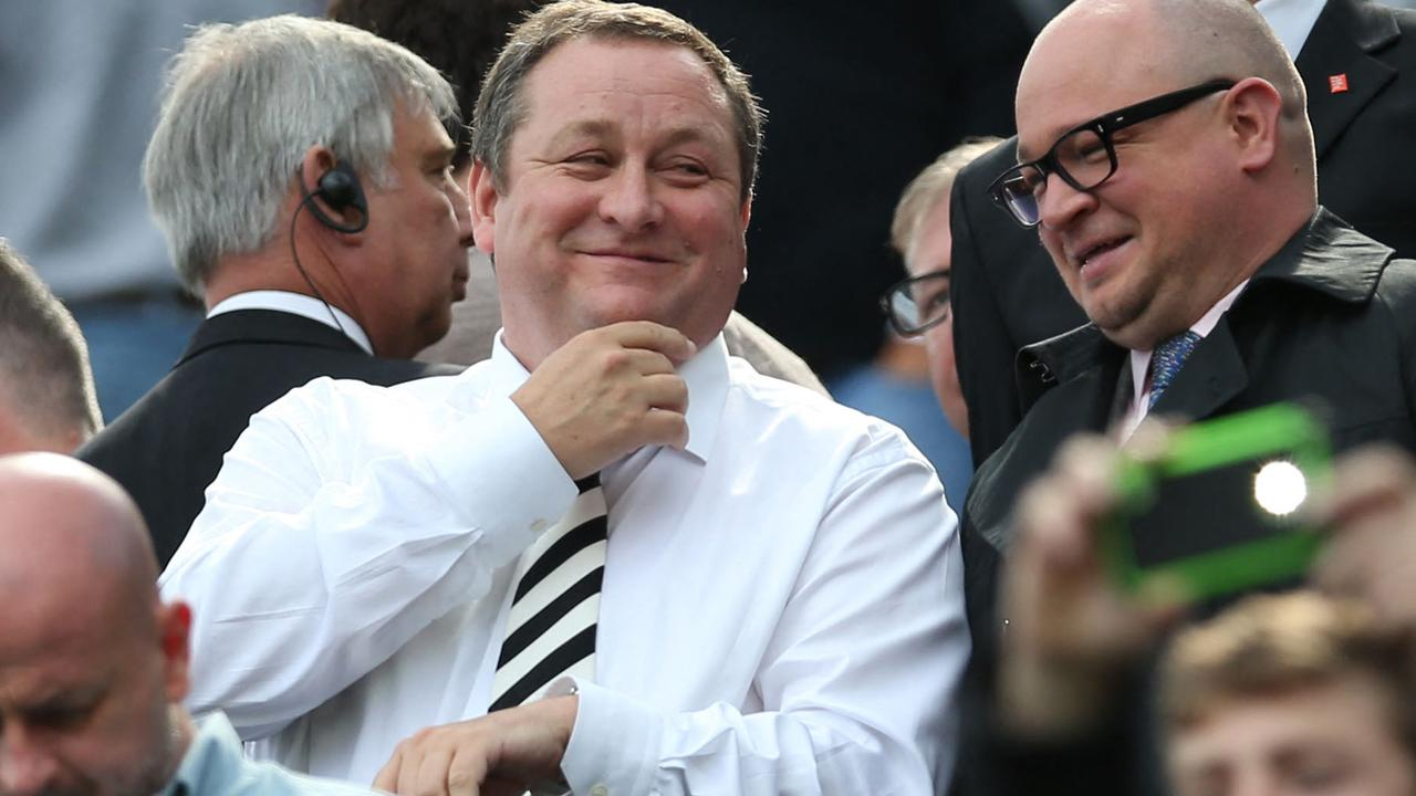 Newcastle United's former owner Mike Ashley won't be missed. Photo by Ian MacNicol / AFP.