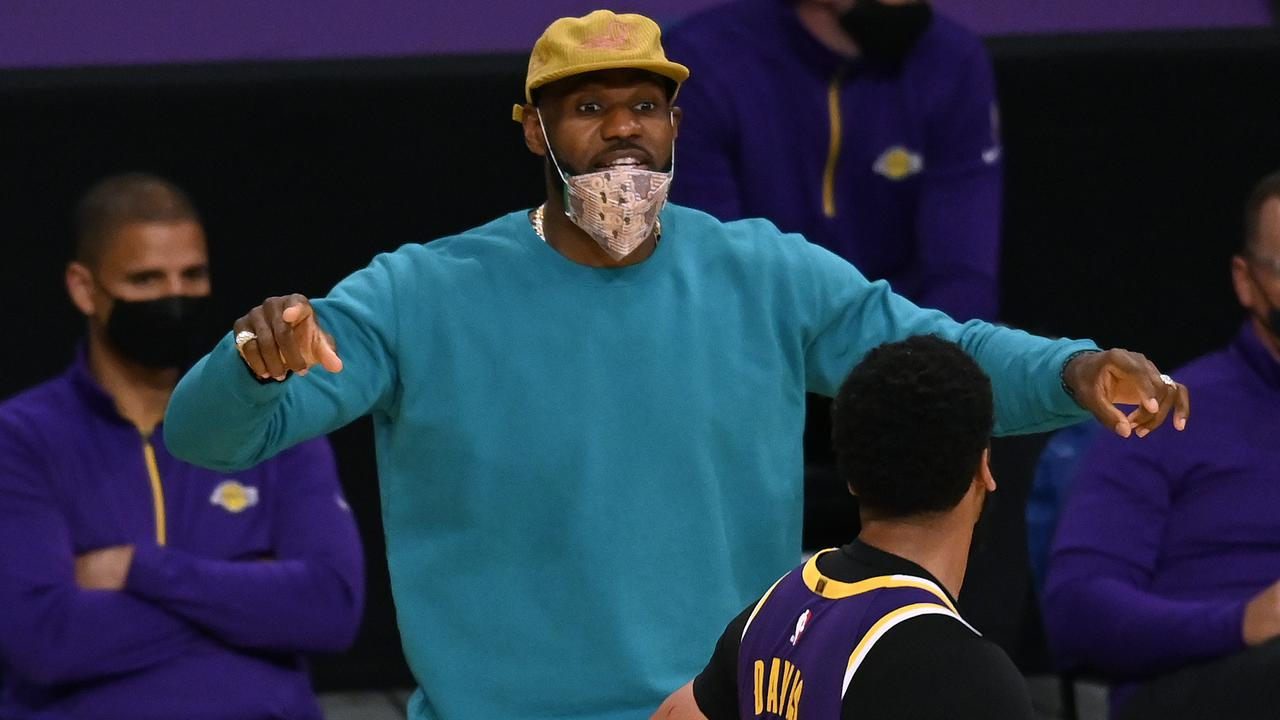 LeBron James is expected to return to the Lakers today. (Photo by Harry How/Getty Images)