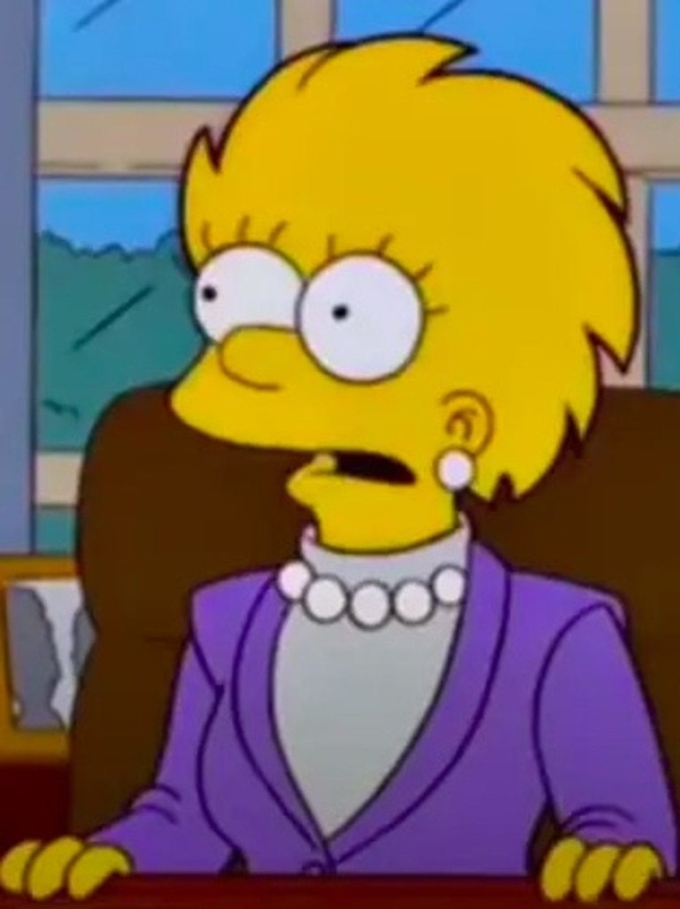 Another prediction The Simpsons made, 20 years before the event came to pass.