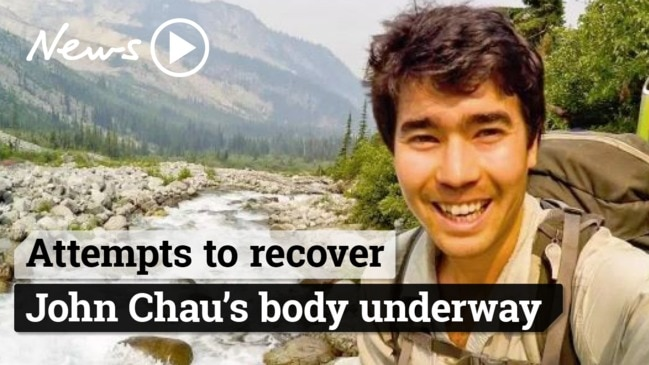 Authorities are trying to recover John Chau's body from Sentinelese Tribe