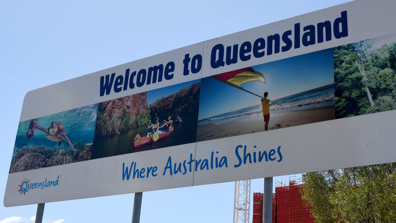 Good news. The Queensland border will remain open. Picture: Steve Holland