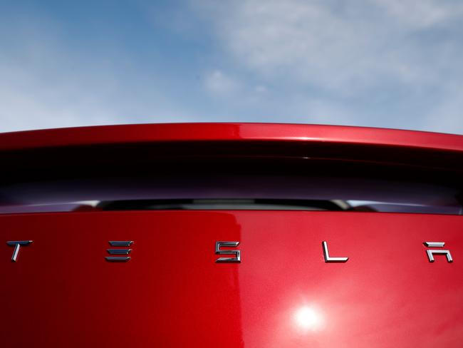 Tesla shares have dropped since Musk's outburst. Picture: AP