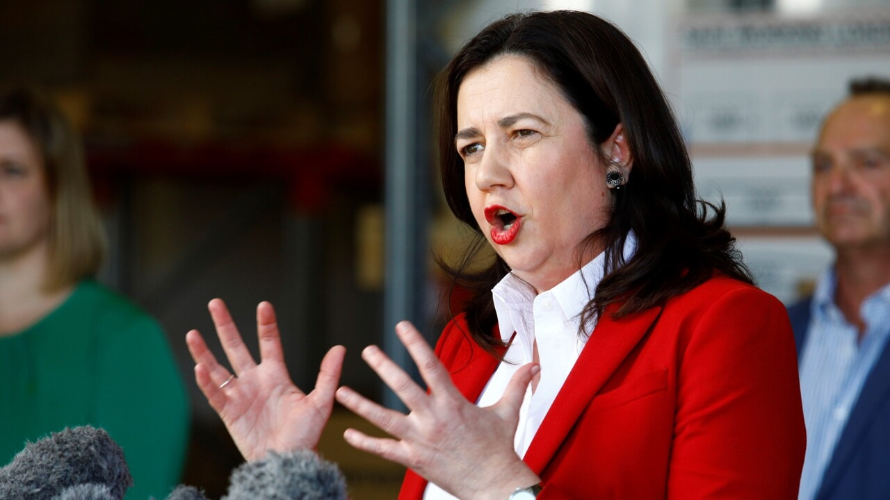 Palaszczuk claims 'Queensland is being singled out' on borders by the federal government