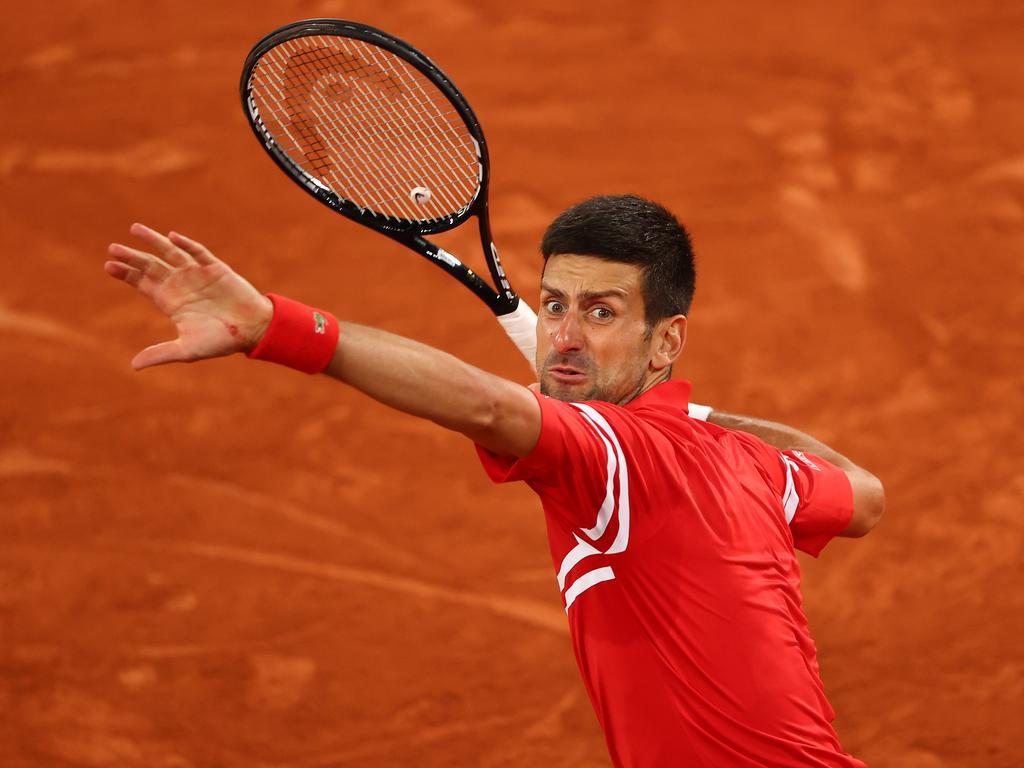 Novak Djokovic is through to the semi-finals.