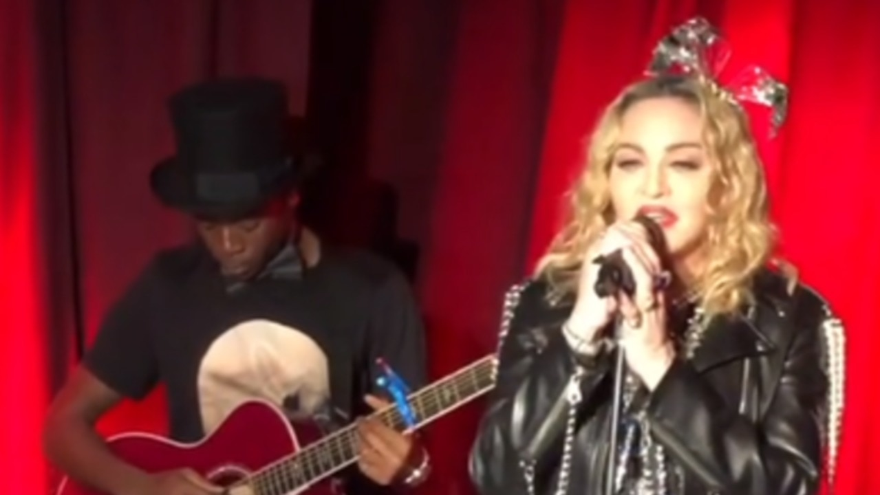 Madonna Gives Surprise New Year's Eve Performance at Iconic Gay Bar