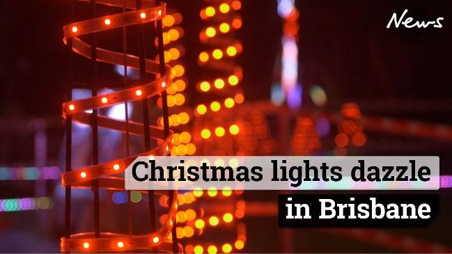 Christmas lights dazzle in Brisbane