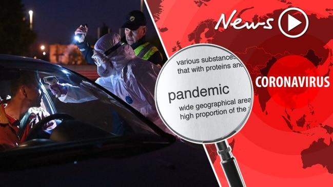 Coronavirus: WHO declares COVID-19 a pandemic
