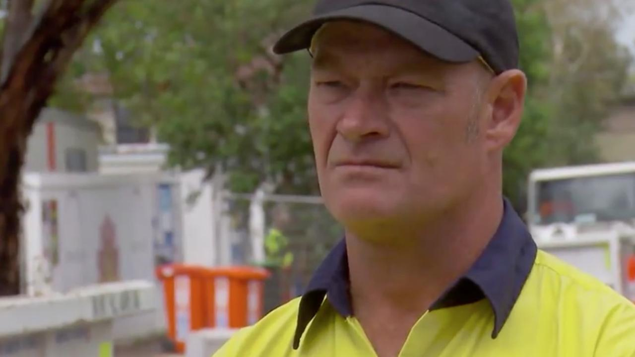 Foreman Keith looked shocked by the outburst.