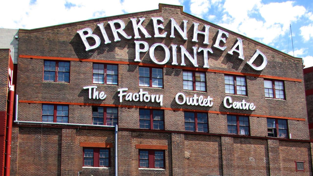Birkenhead Point has several exposure sites. Picture: Supplied