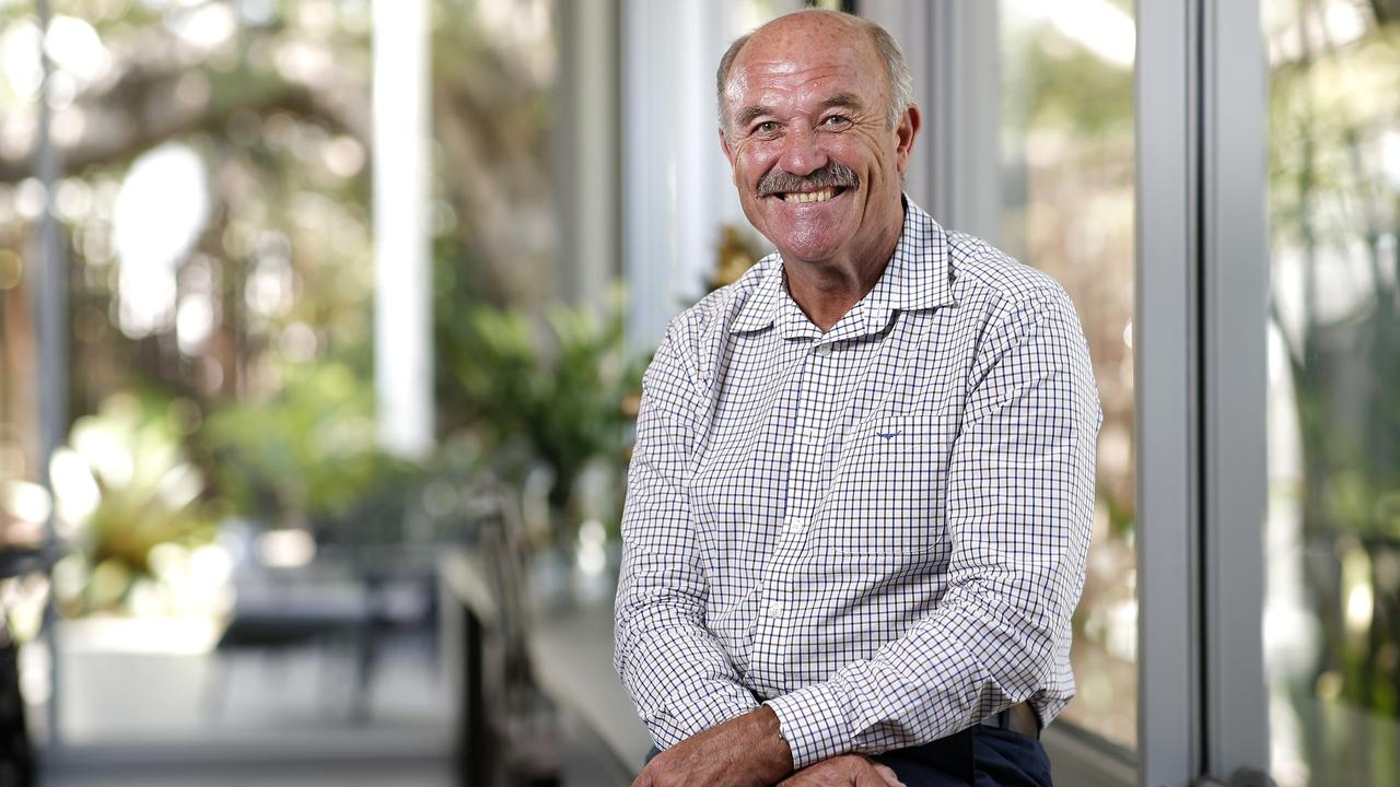 Wally Lewis has been healthy since having brain surgery after suffering a seizure while reading the news. Picture: Image/Josh Woning