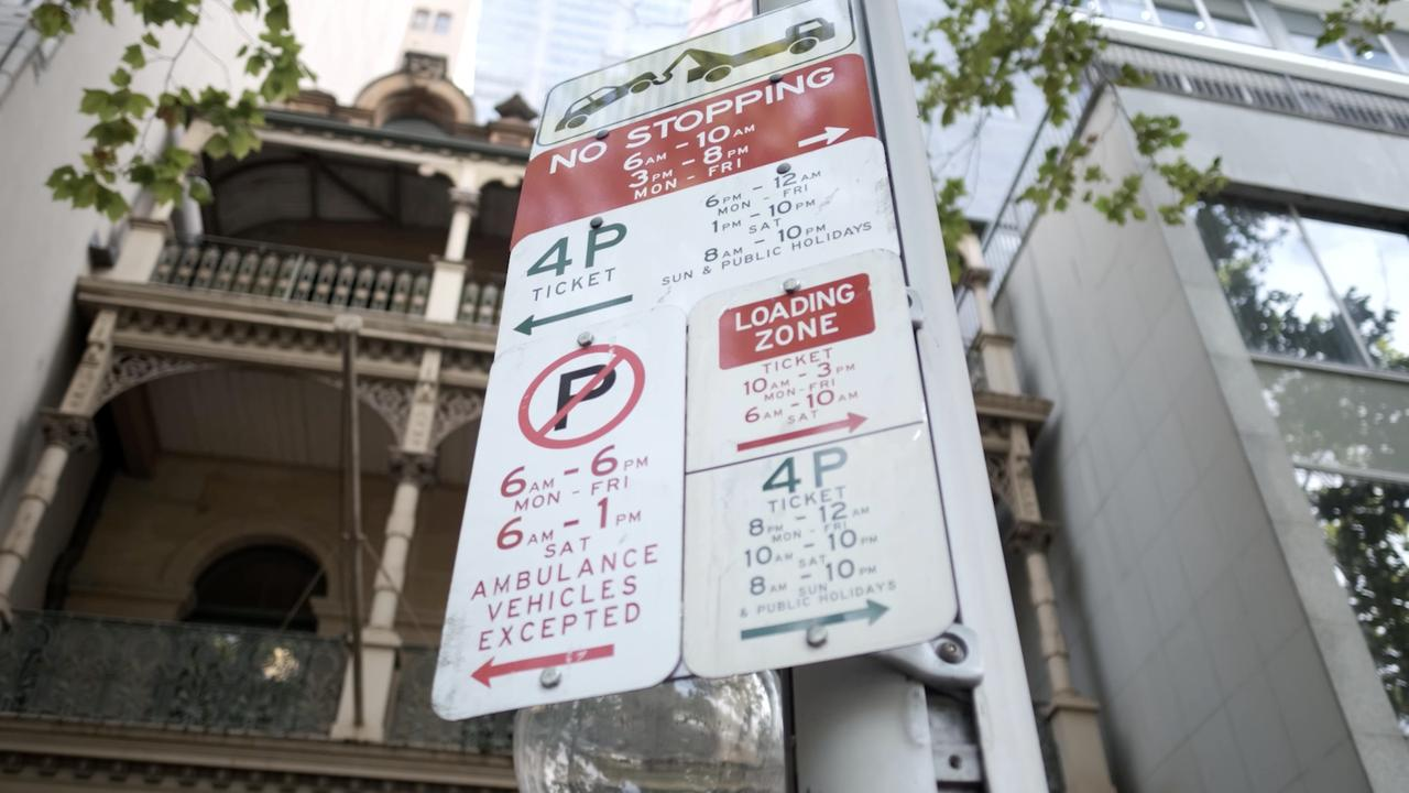 Constantly changing parking conditions are confusing to motorists.