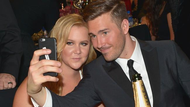 Amy Schumer is currently dating designer Ben Hanisch. Picture: Charley Gallay/Getty Images