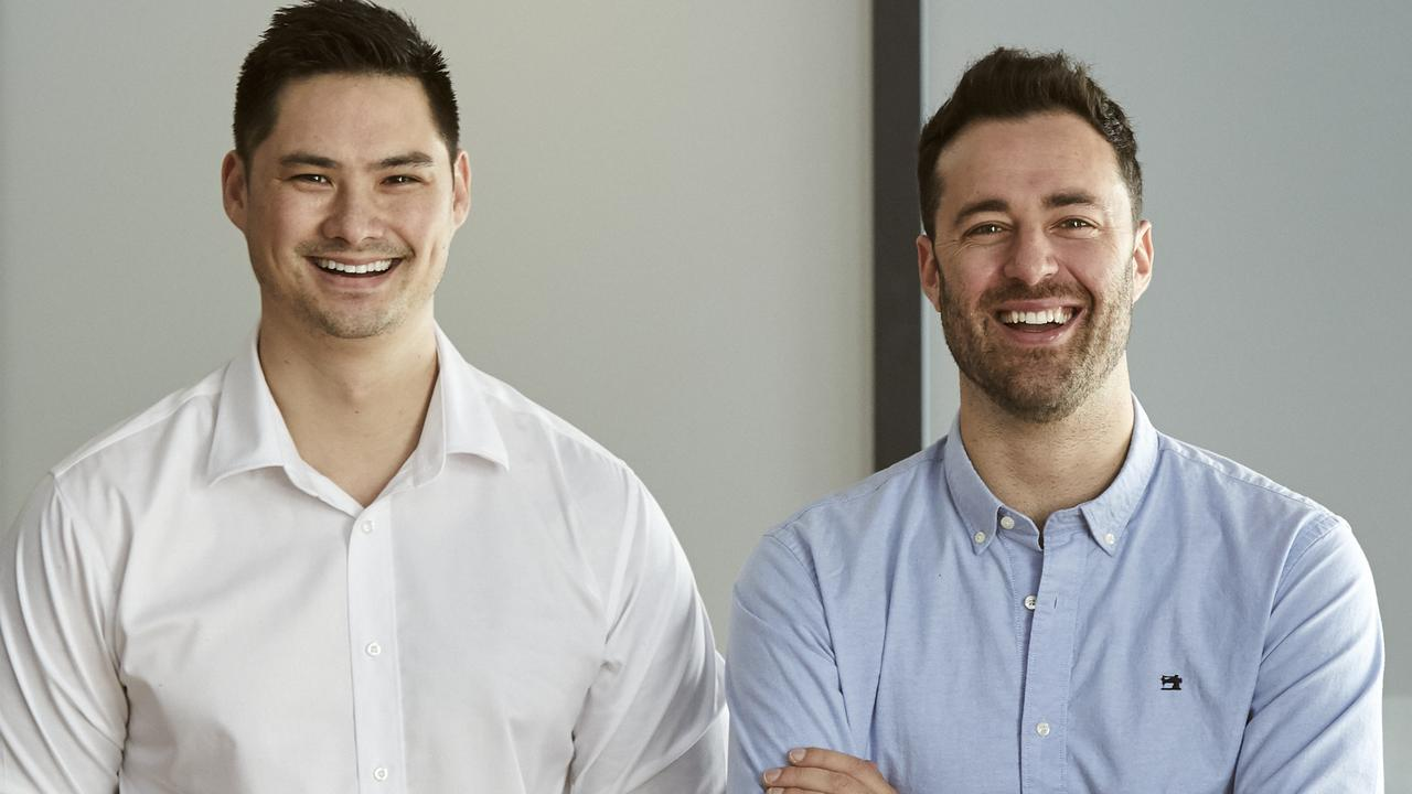 Jon Tse (left) and Kevin Garcia (right) have both launched start-ups in the past.